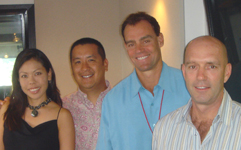DEAN McPHAIL and GREG MEIER - President and CEO of Starbucks Coffee and Jamba Juice Hawaii, Coffee Partners Hawaii