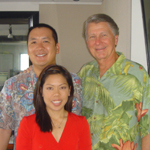 LARRY JOHNSON - Retired CEO of Bank of Hawaii, Board of Star Bulletin and MidWeek, Hawaii Tourism Authority, Hawaii Pacific University, The Hawaii Community Foundation and The Nature Conservancy